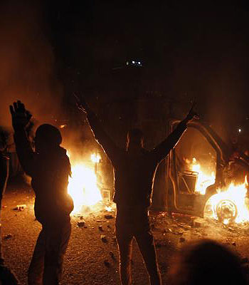 Egyptian official warns of collapse of state