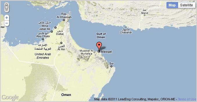 Oman map feature asharq al awsat english archive oman map feature gumiabroncs Choice Image