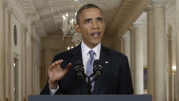 Obama says Syria deal could offer lesson for Iran talks