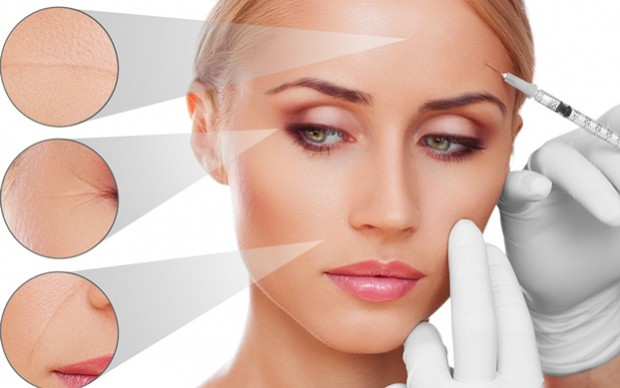 File photo illustrating the use of injectable dermal fillers.