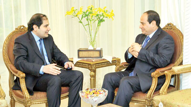 "Sisi: Egypt needs ""hard work, effort and hope"""