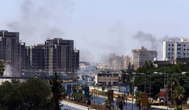 Three killed as Libyan militias fight over airport