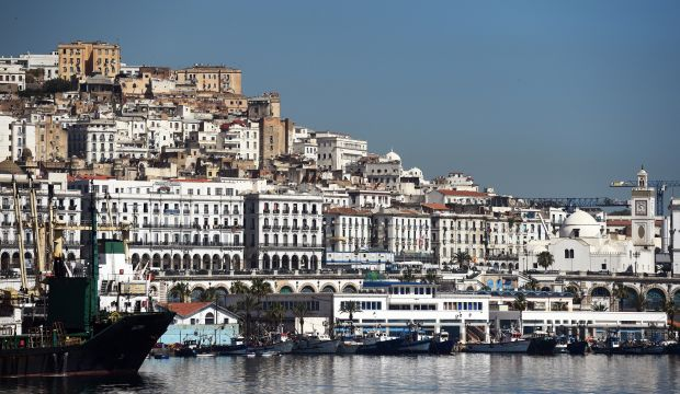 A general view of Algiers with the Kasbah in the background taken on June 5, 2014. (FAROUK BATICHE/AFP/Getty Images)