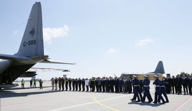 Bodies of Malaysia jet victims to leave Ukraine