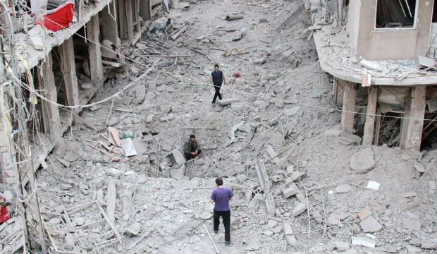 Syrian government forces driven back from Damascus outskirts: sources
