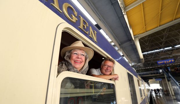 Iran welcomes Western tourists on first private rail tour