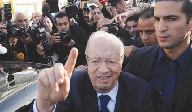 Veteran Sebsi leads Tunisian presidential race: exit polls