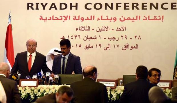 Hadi calls for return of Gulf initiative as Riyadh conference on Yemen begins