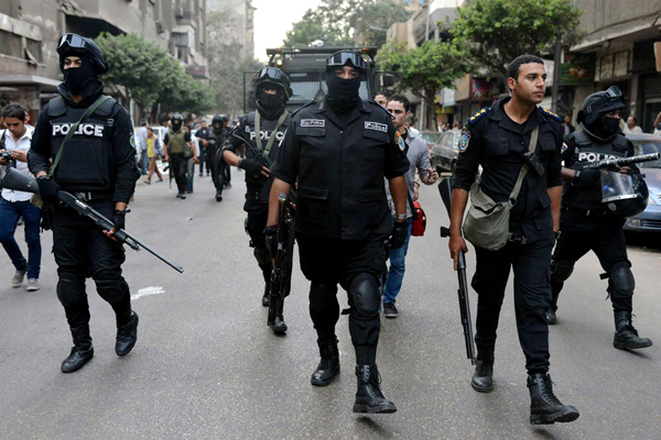 Egyptian Police Shoot Four Suspected Militants South of Cairo