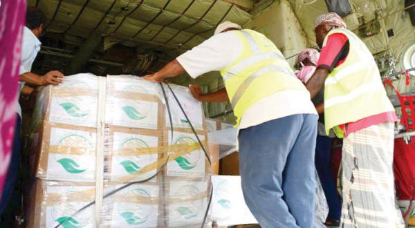 Saudi Humanitarian Aid Arrives in the Houthi Stronghold Saada