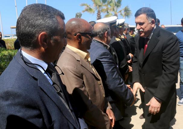 Libya's UN-Backed Presidential Council Reaches Tripoli amidst Welcome