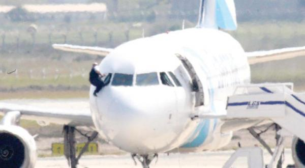 Egyptian Man Hijacks a Plane with a Fake Explosive Belt