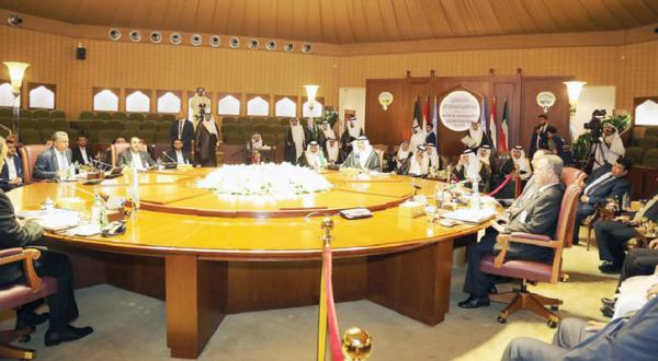 Picture taken bu Kuna for the session that was held in Kuwait between the Yemeni government and the Houthi Rebels on Thursday