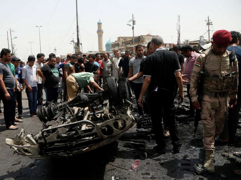 Bombings Claimed by ISIS kill 93 in Iraqi Capital