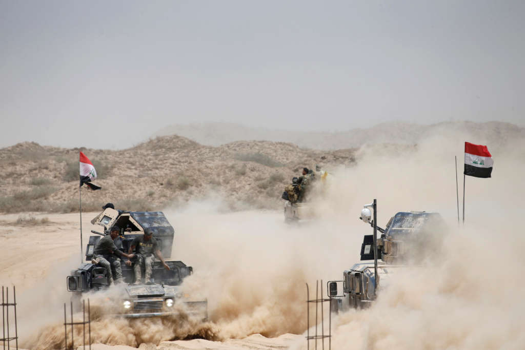Iraqi Forces Start Pushing into Fallujah as ISIS Claims Bombings