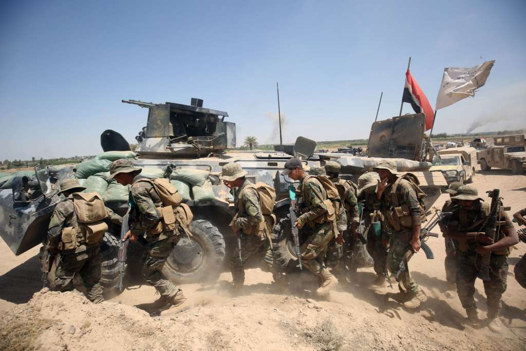 Iraq Forces Retake Fallujah Government HQ from ISIS