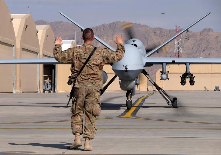 Afghan Officials: US Drone Kills 14 ISIS Militants