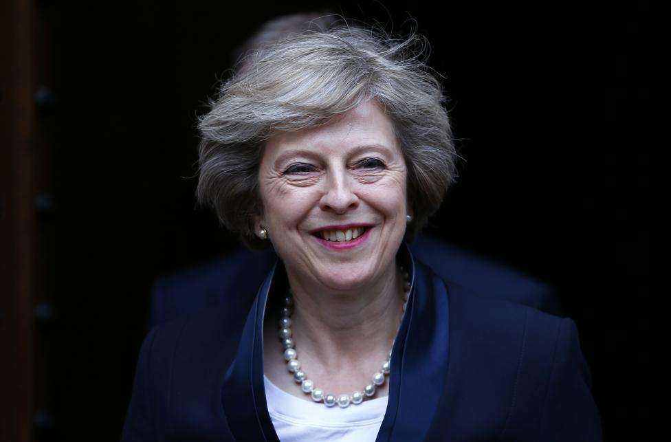 Theresa May…Daughter of Priest, Hates Spotlights