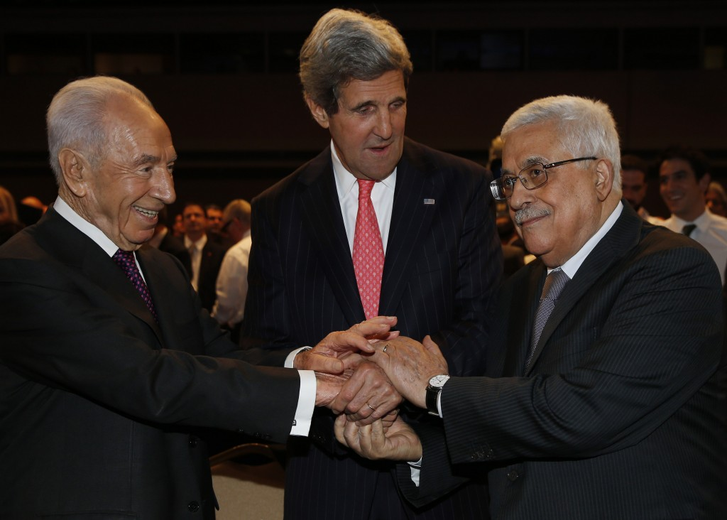 Peres: Agreement over 1967 Borders, Only Final Touches Left