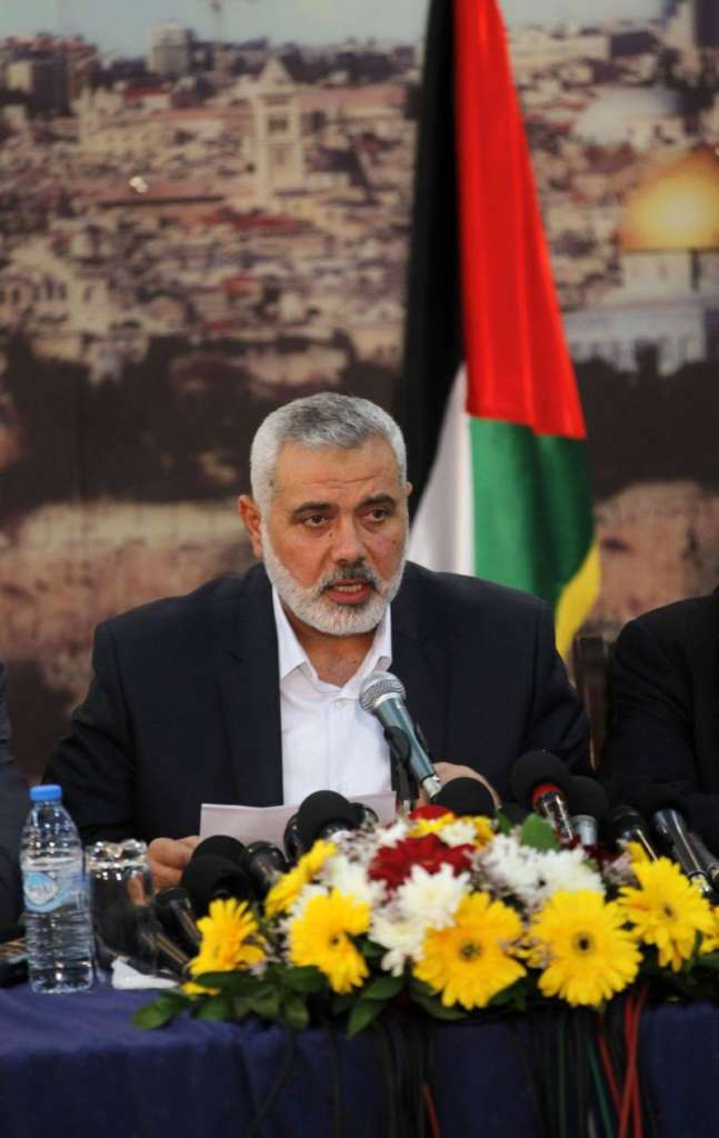 Iranian Attempts to Push for Haniyeh's Win in Hamas Elections