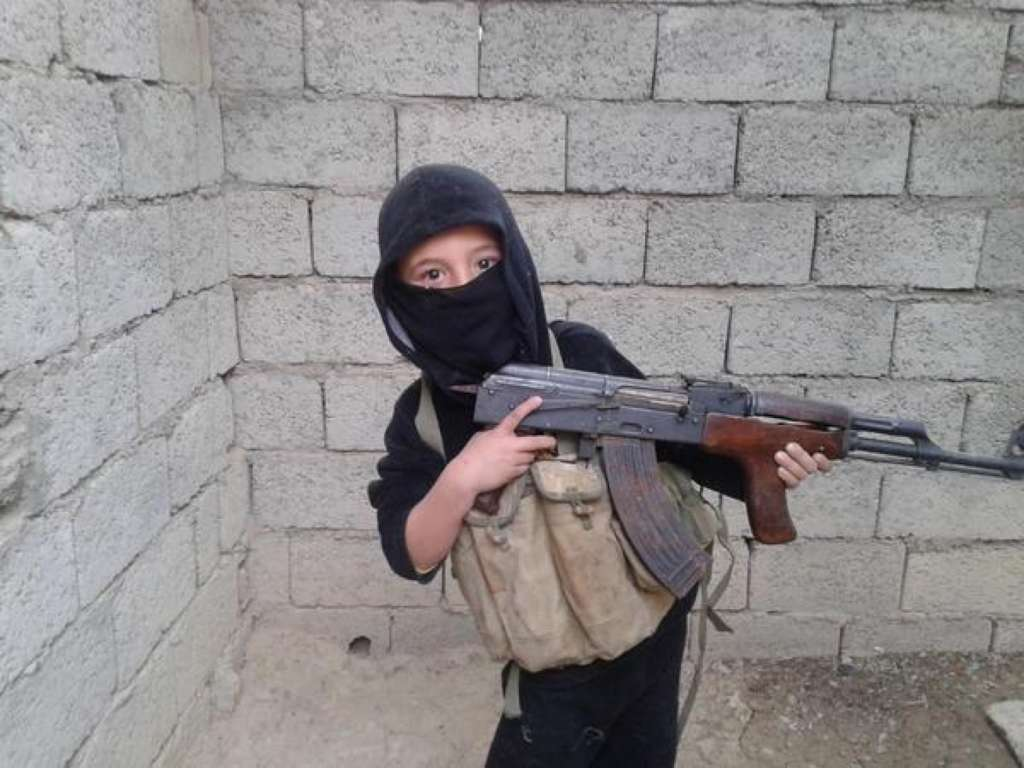 For the 'Children of ISIS,' Target Practice Starts at Age 6