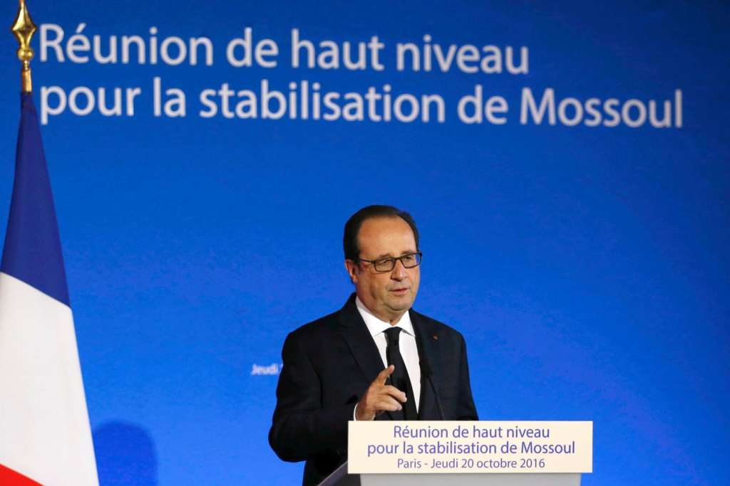 Paris Meeting on Mosul: Weak International Representation
