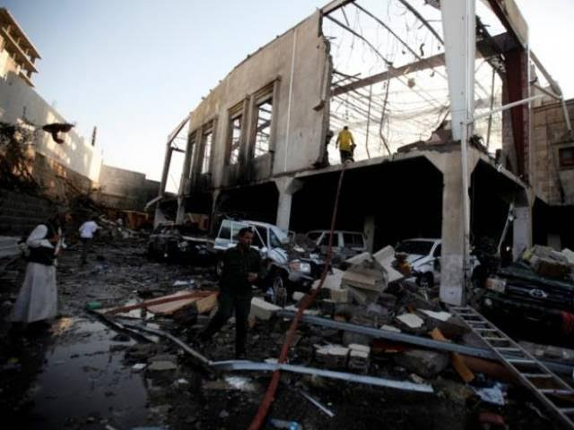 Rebel Leaders Killed in Sana'a Explosion…Coalition: We Have not Bombed