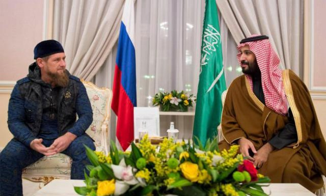 Saudi Deputy Crown Prince Receives President of Chechnya