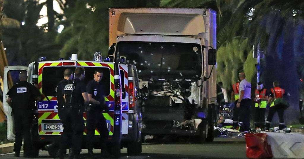 Scenes from the terror attack in Nice