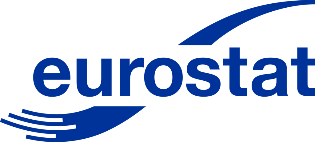 Logo of Eurostat, the statistical office of the European Union