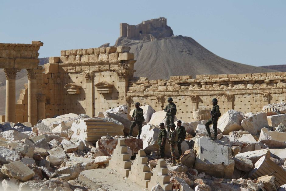 ISIS Entrenches in Palmyra… Aleppo Awaits