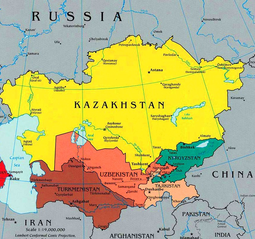 nations Central asian