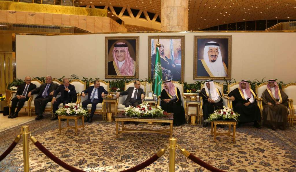 Aoun Arrives in Riyadh on a Visit to Revive Relations