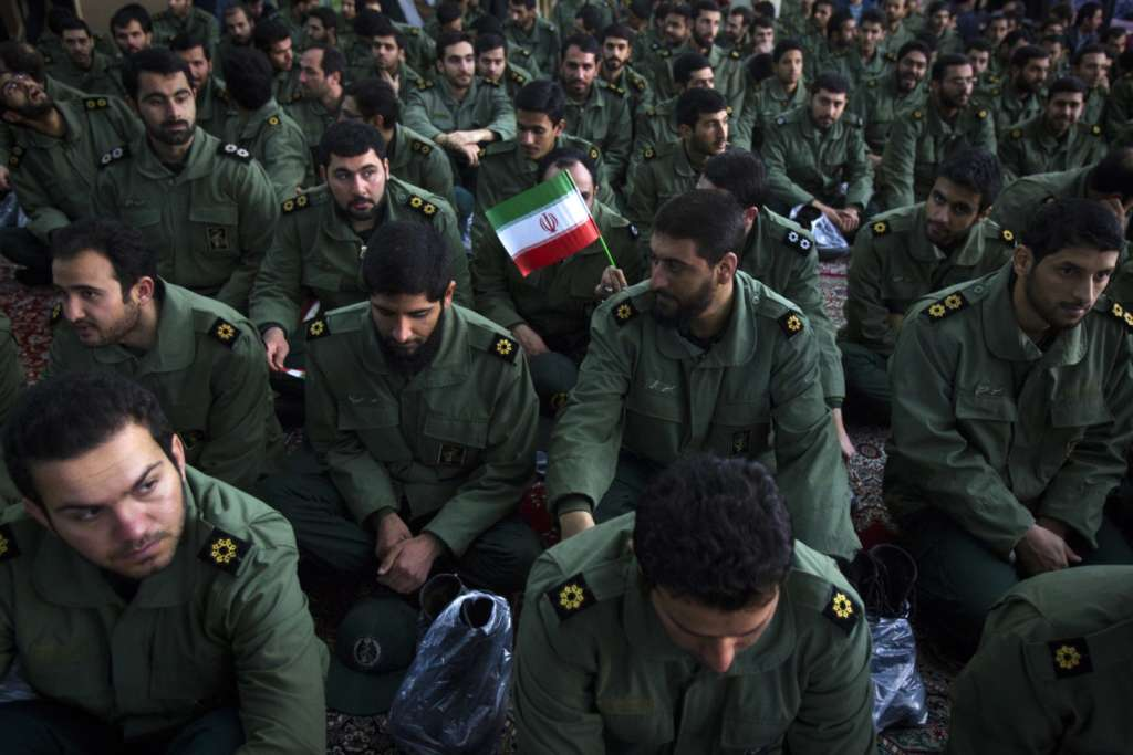 Intelligence Officials from IRGC Arrested on Corruption Charges