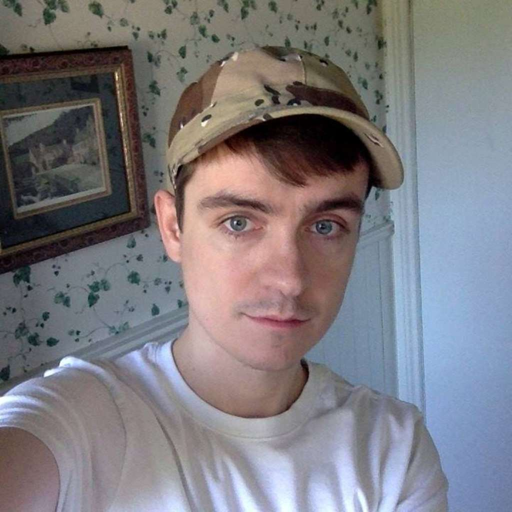 Alexandre Bissonnette, a suspect in a shooting at a Quebec City mosque, is seen in a Facebook posting. Reuters