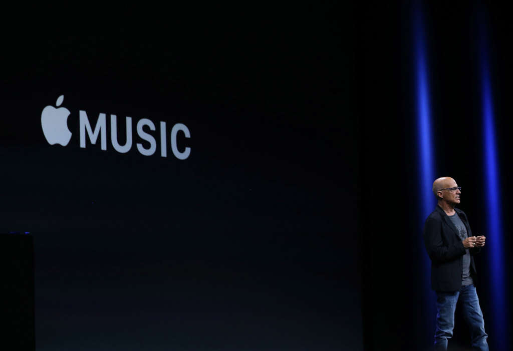 """""""Apple Music will have video and other things that I can't talk about,"""" said Jimmy Iovine, who heads the $10-a-month service. """"We're going to be aggressive about it."""""""