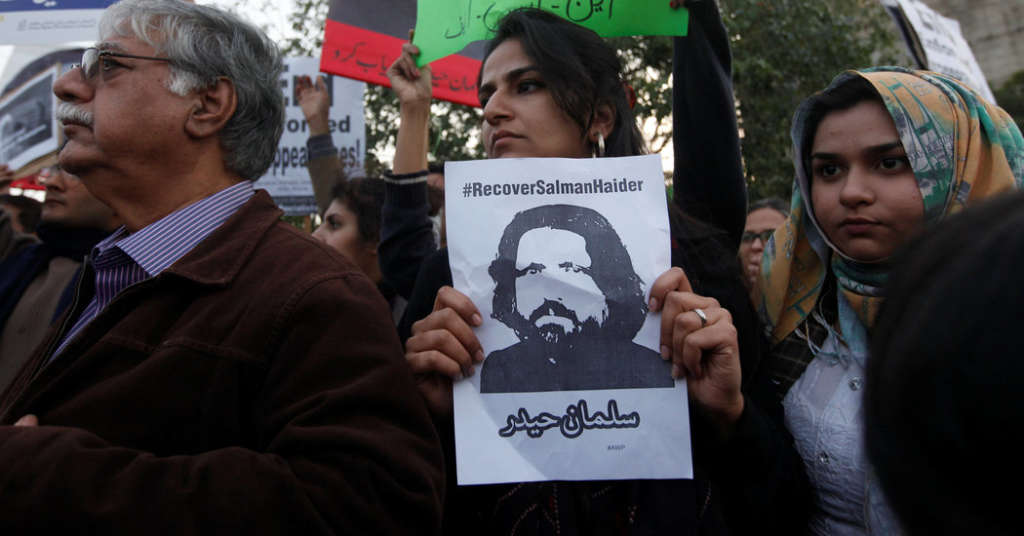 Bloggers Kidnapped in Pakistan…Fingers Pointed at Security Agencies