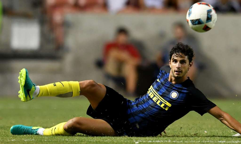 Hull City appear to have made an eye-catching acquisition in signing Andrea Ranocchia on loan from Internazionale. Photograph: Claudio Villa/Inter via Getty Images