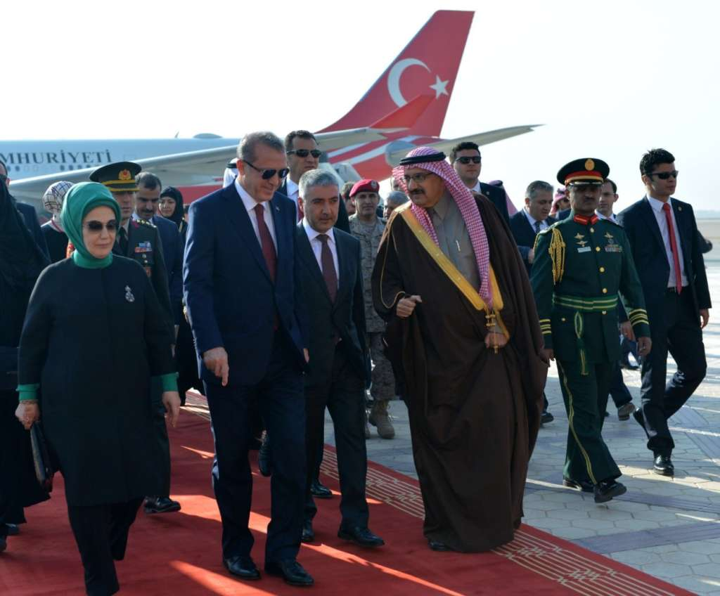 Erdogan Arrives Today In Riyadh To Boost Saudi Turkish Relations