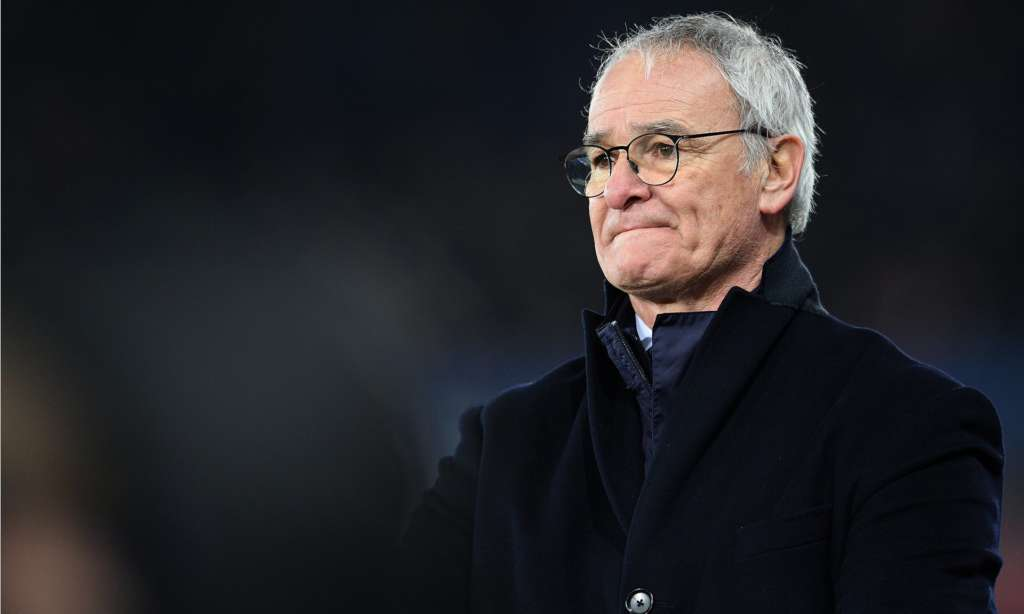 After guiding Leicester City to the Premier League title in his first season with the club, Claudio Ranieri is in danger of taking them down in his second. Photograph: Ashley Crowden/CameraSport via Getty