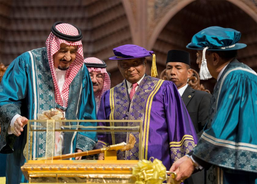King Salman in Asia: the New Silk Road