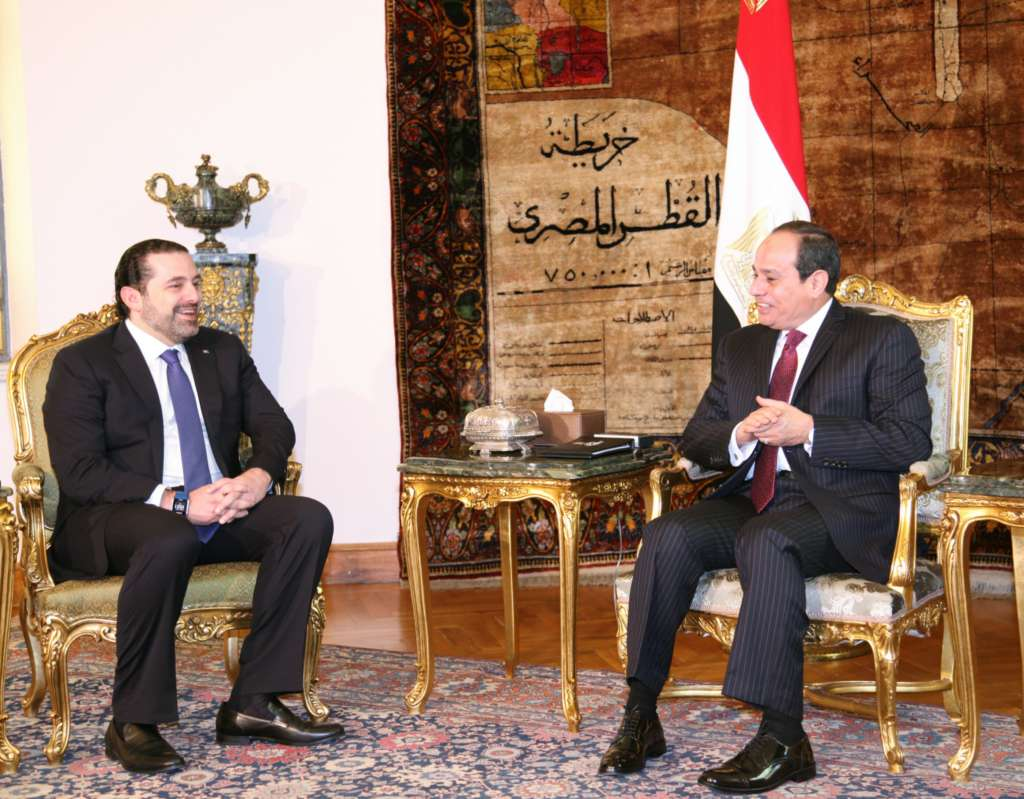 Sisi Stresses Support to Lebanon's Political Stability