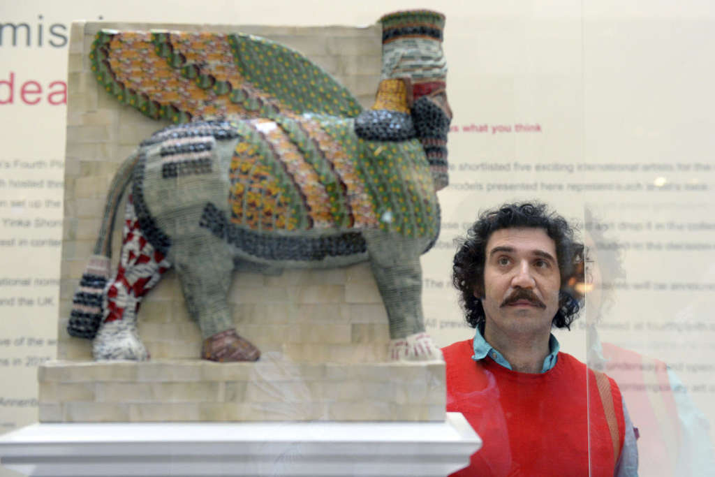 Winged Bull… from Mosul to Trafalgar Square