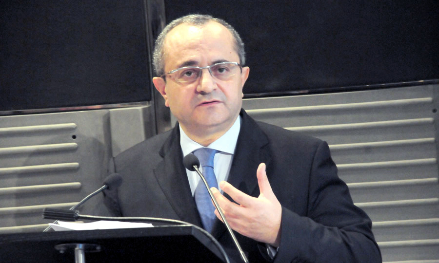 Brahim Benjelloun Touimi, the director general of BCME Bank and the chairman of the Bank of Africa