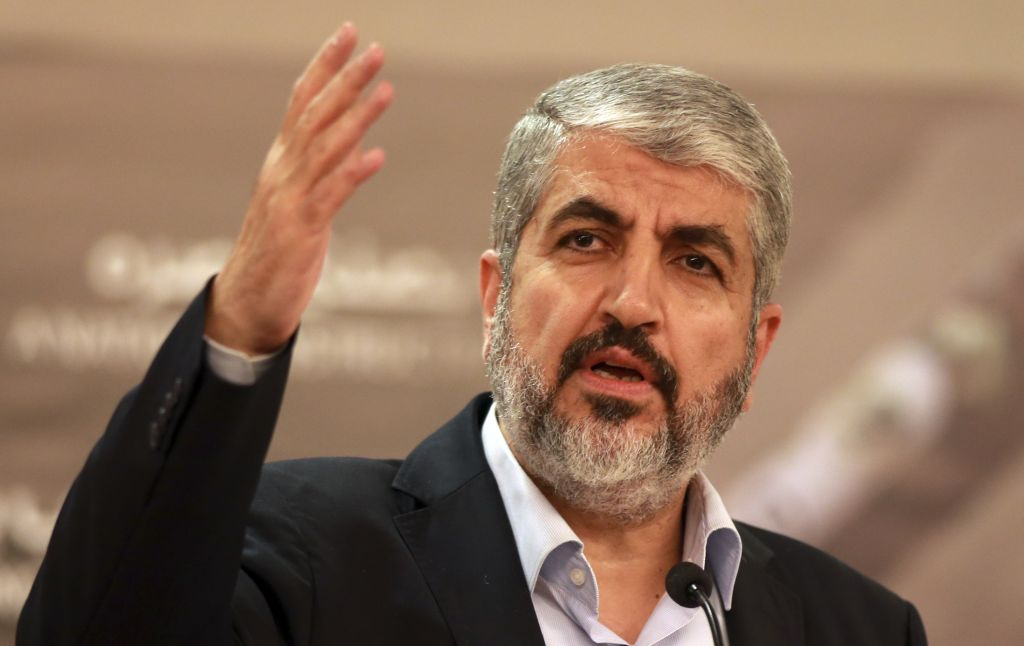 Khaled Meshaal to Announce New Hamas Charter before his Departure