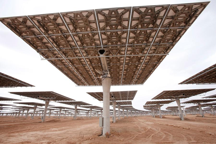 Morocco Unveils the World's Largest Solar Power Plant