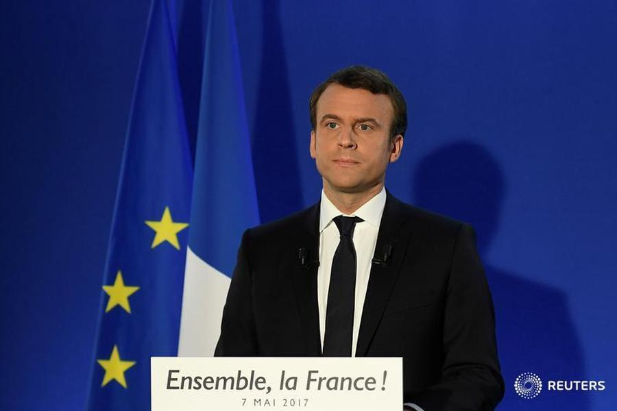 Macron Discusses Political Transition in Syria with 'Supreme Committee'