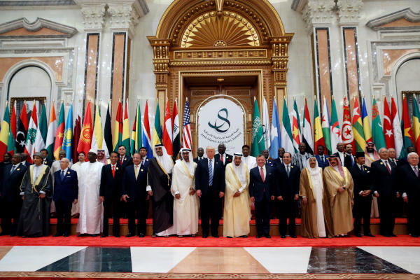 King Salman at Arab-Islamic-US Summit: Iran Spearheading Terrorism