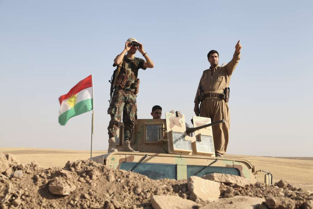 International Coalition Supports Erbil to Unify, Develop Peshmerga