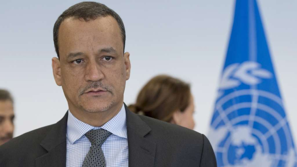 UN Special Envoy to Yemen Ismail Ould Cheikh Ahmed. Reuters